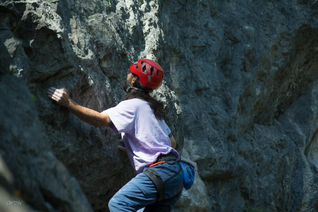Von der Halle an den Fels Kletterkurs mit Moni Weißsteiner